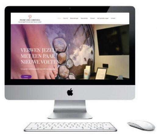 Pedicure Corinda website