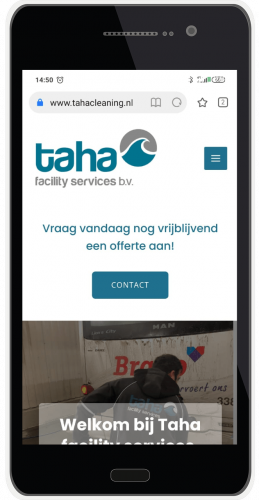 Taha cleaning mobile presentatie 1