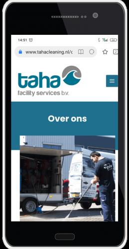 Taha cleaning mobile presentatie 3