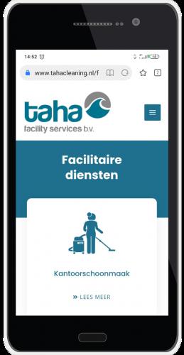 Taha cleaning mobile presentatie 4
